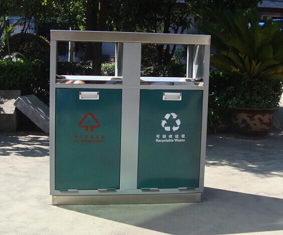 广告垃圾桶设计图异形展示