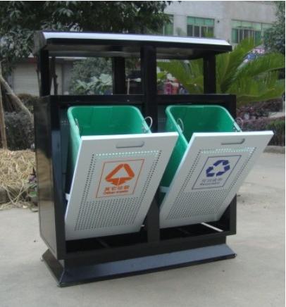 户外分类垃圾桶-st-011