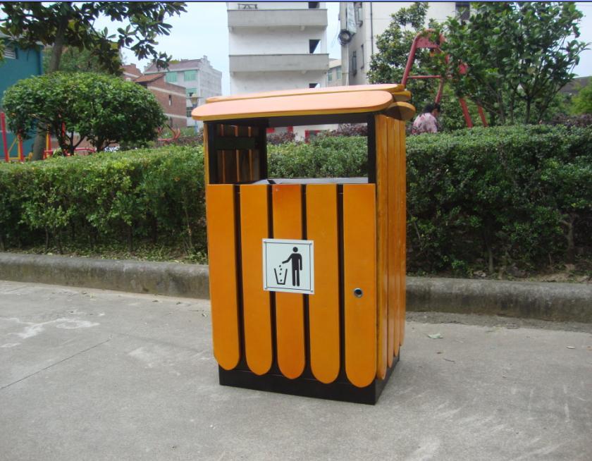 公园景区-不锈钢环卫垃圾桶丨分类垃圾箱价格丨户外