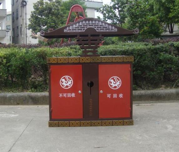 不锈钢垃圾桶厂家:泰安市新增户外垃圾桶